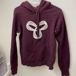 TNA maroon hoodie